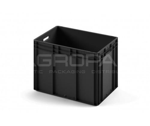 КОНТЕЙНЕР ЕС-6442.1 черный, с открытыми ручками