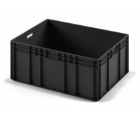 КОНТЕЙНЕР ЕС-8632.3 черный, с открытыми ручками