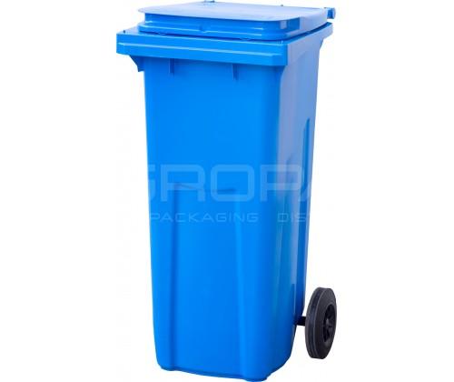 Мусорный контейнер 120 л. синий