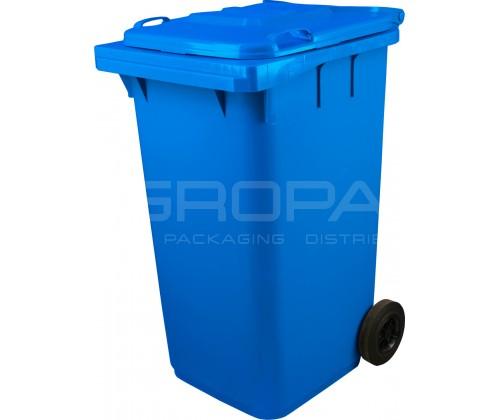 Мусорный контейнер 240 л синий