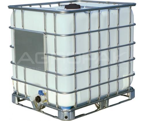 Еврокуб 1000 литров на металлическом поддоне