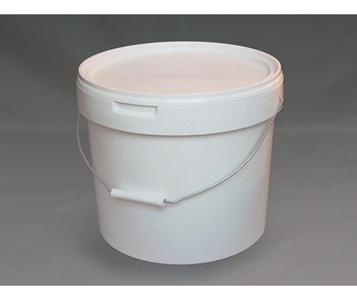 Ведро круглое пластиковое 18л(с крышкой и ручкой)