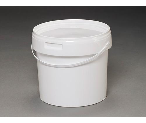 Ведро круглое пластиковое 3,8л(с крышкой и ручкой)